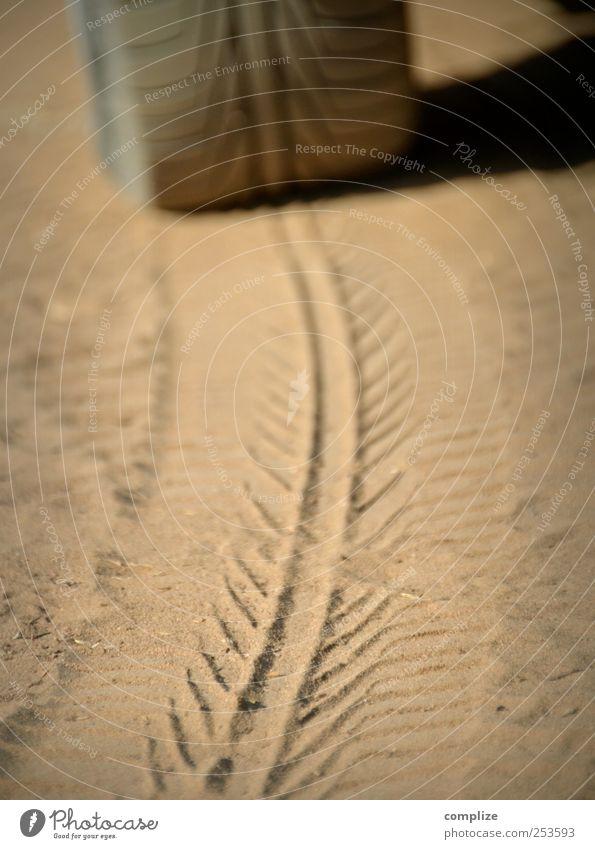 Profil Strand Straße Umwelt Wege & Pfade Sand Stein PKW braun Feld Erde Abenteuer Zukunft Wüste Spuren Kontakt drehen