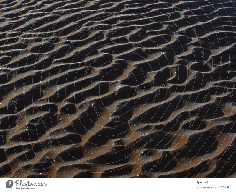 sandwellen Sand Eis Wellen Wüste Stranddüne