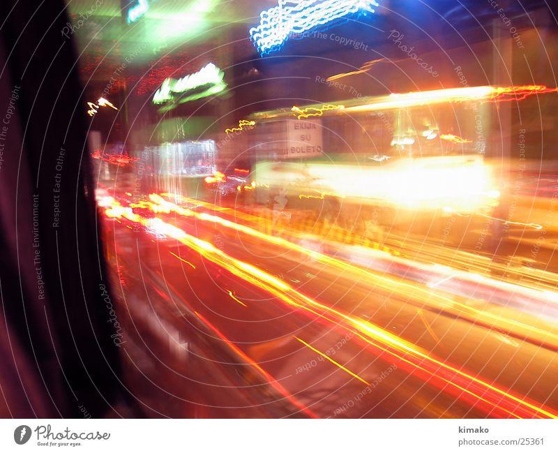 Faster Fototechnik velocidad lights Licht schnelle Lichter fast lights Mexiko