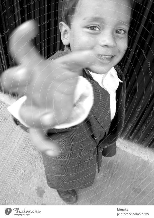 Manolo Kind Hand grinsen Mexiko