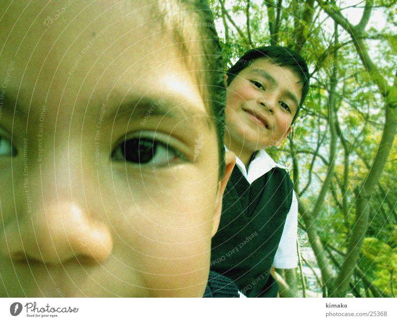 ein was für Paar Kind grinsen child children Mexiko niños