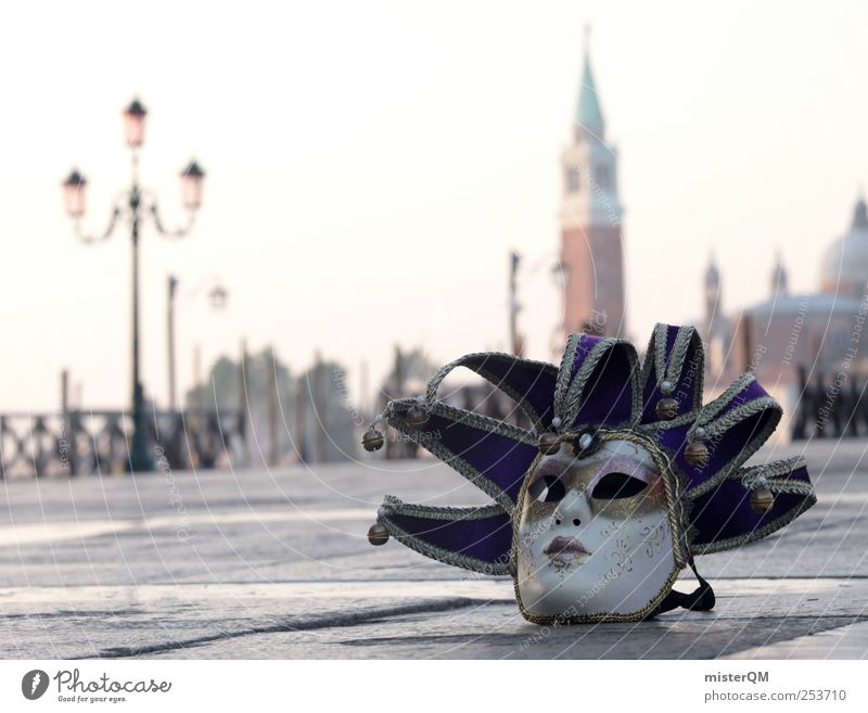 Carnival of Venice I Stil Kunst Feste & Feiern ästhetisch Tourismus außergewöhnlich Boden Romantik Kultur Maske geheimnisvoll Italien Karneval edel Fernweh