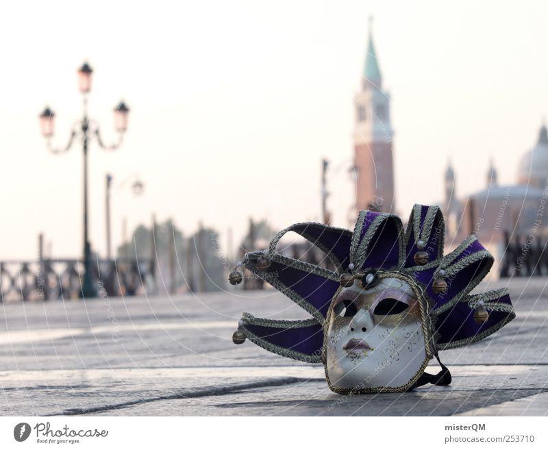 Carnival of Venice I Stil Kunst Feste & Feiern ästhetisch Tourismus außergewöhnlich Boden Romantik Kultur Maske geheimnisvoll Italien Karneval edel Fernweh anonym