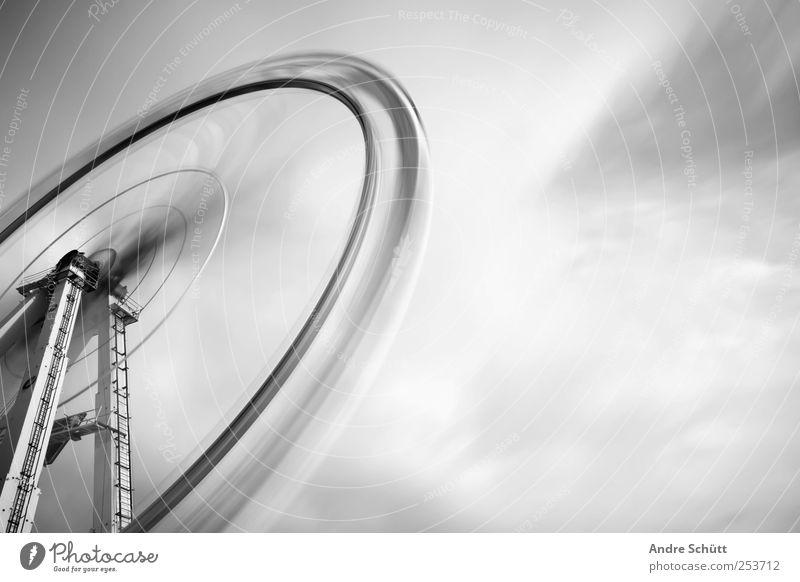 rotating 4 Freude Wolken verrückt Geschwindigkeit drehen Jahrmarkt Surrealismus Riesenrad Karussell