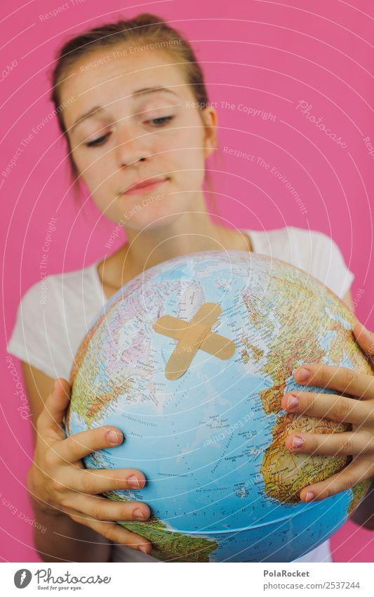 #A7# Planet mit Schmerzen Dienstleistungsgewerbe Sorge sorgsam Umweltschutz Umweltverschmutzung Umweltschaden Umweltkatastrophe Umweltsünder Schaden kaputt Erde