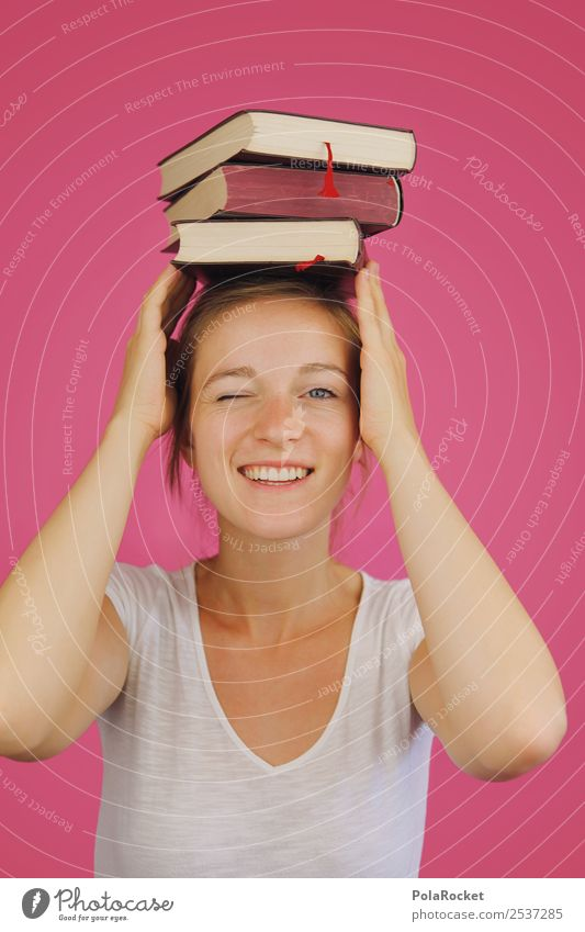 #A7# Bücher-Wissen in Balance feminin 1 Mensch kompetent Werbung Ziel Wissenschaften Wissenschaftler Wissenschaftsmuseum Akademie der Bildenden Künste Studium