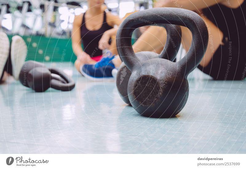 Frau Mann schwarz Lifestyle Erwachsene Sport Menschengruppe Zusammensein Freundschaft Körper Kraft Aktion authentisch Fitness stark Etage