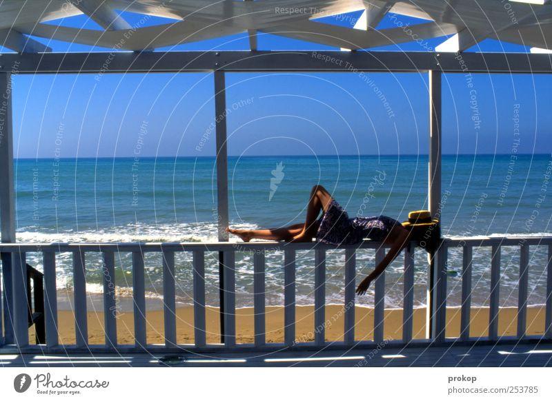 Entspannung I Lifestyle Gesundheit Wellness harmonisch Wohlgefühl Zufriedenheit Erholung ruhig Meditation Ferien & Urlaub & Reisen Tourismus Sommer Sommerurlaub