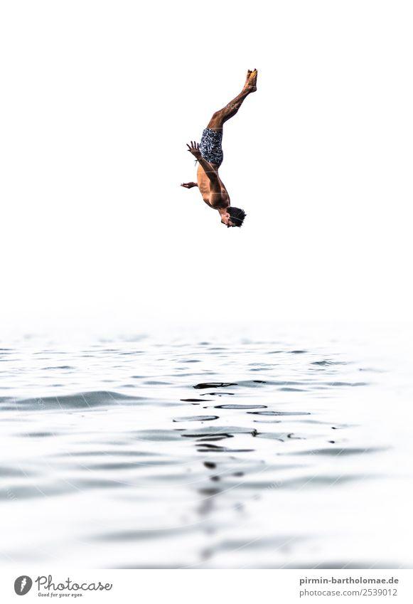 Cold water Series I Lifestyle Reichtum Stil schön Gesundheit sportlich Fitness Wellness Schwimmbad Schwimmen & Baden Turmspringen Schwimmsport
