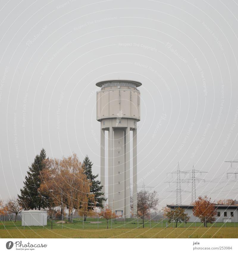 wasserturm Himmel Natur Baum Pflanze Herbst Architektur Gebäude Turm trist Bauwerk Wahrzeichen Wasserturm