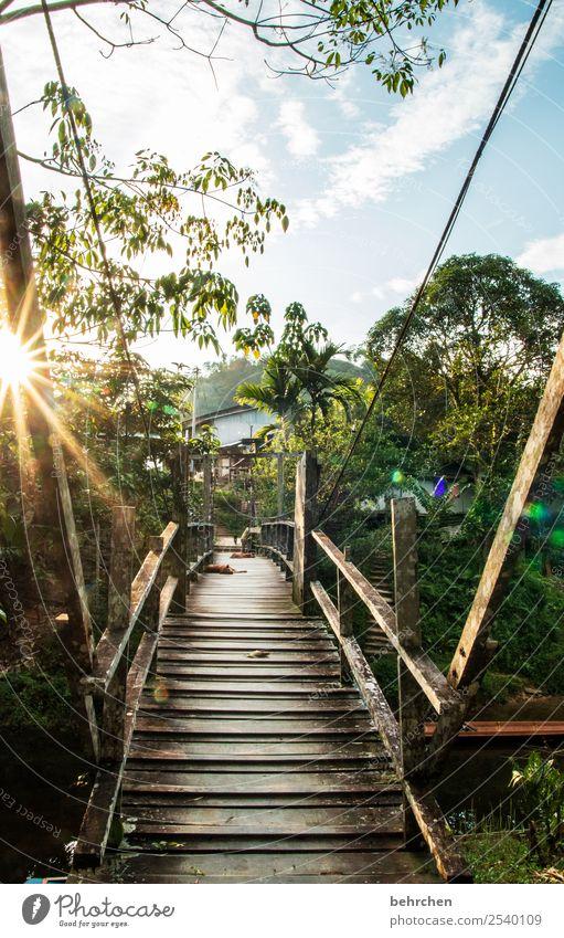 grenzüberschreitung | neue welten entdecken Himmel Natur Ferien & Urlaub & Reisen schön Landschaft Wolken Ferne Tourismus Freiheit außergewöhnlich Ausflug