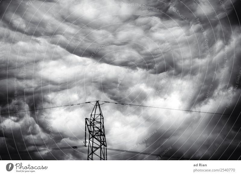 Sommer 2018 Umwelt Natur Urelemente Luft Himmel Wolken Gewitterwolken Klima Wetter schlechtes Wetter Unwetter Wind Sturm Regen Eis Frost Hagel dunkel kalt