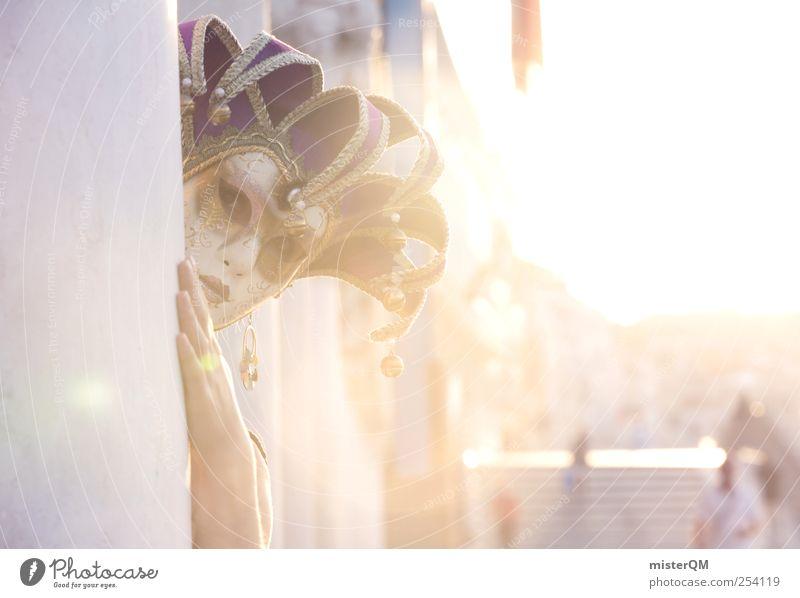 Mystery of Venice II Frau Sonne Stil Kunst Abenteuer ästhetisch außergewöhnlich Kultur Neugier Maske geheimnisvoll fantastisch Karneval verstecken mystisch edel