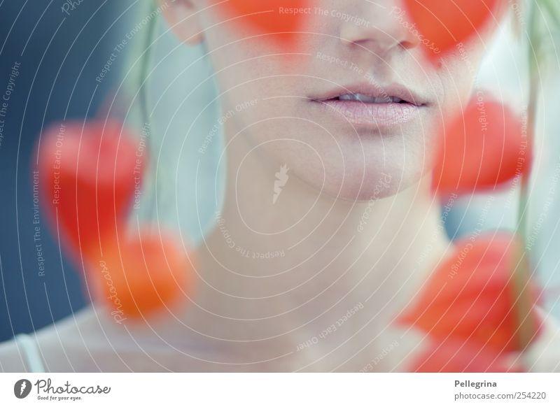 ç Mensch feminin Junge Frau Jugendliche Haut Mund Lippen Zähne 1 18-30 Jahre Erwachsene Gefühle Stimmung Farbfoto Außenaufnahme Tag Schwache Tiefenschärfe
