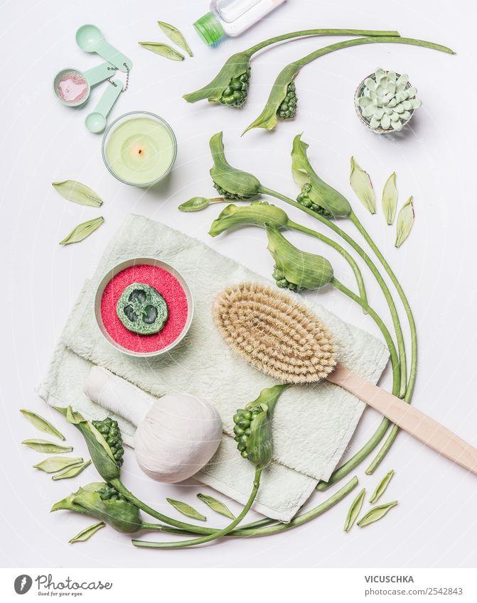 Massage Zubehör für Cellulite Behandlung zu Hause Natur schön grün Blume Gesundheit Stil Häusliches Leben Design Dekoration & Verzierung Körper kaufen Kerze