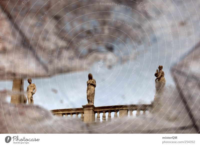 Gebet und Buße. alt Architektur Kunst ästhetisch Perspektive Dekoration & Verzierung Kultur Vergangenheit Geländer Statue mystisch Venedig Barock altmodisch