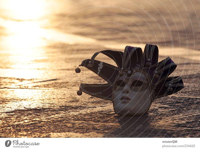 Mystery of Venice III dunkel Kunst Feste & Feiern gold ästhetisch außergewöhnlich Romantik Kultur Maske geheimnisvoll gruselig Karneval Vergangenheit
