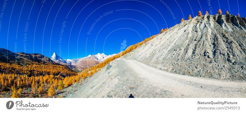 Panorama am Findelgletscher Zermatt - Wallis - Schweiz Natur Ferien & Urlaub & Reisen Sommer Erholung Freude Berge u. Gebirge Hintergrundbild Umwelt Felsen
