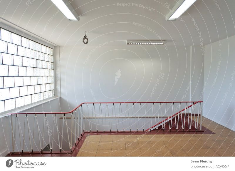 weiß rot gelb Wand Architektur Mauer Treppe