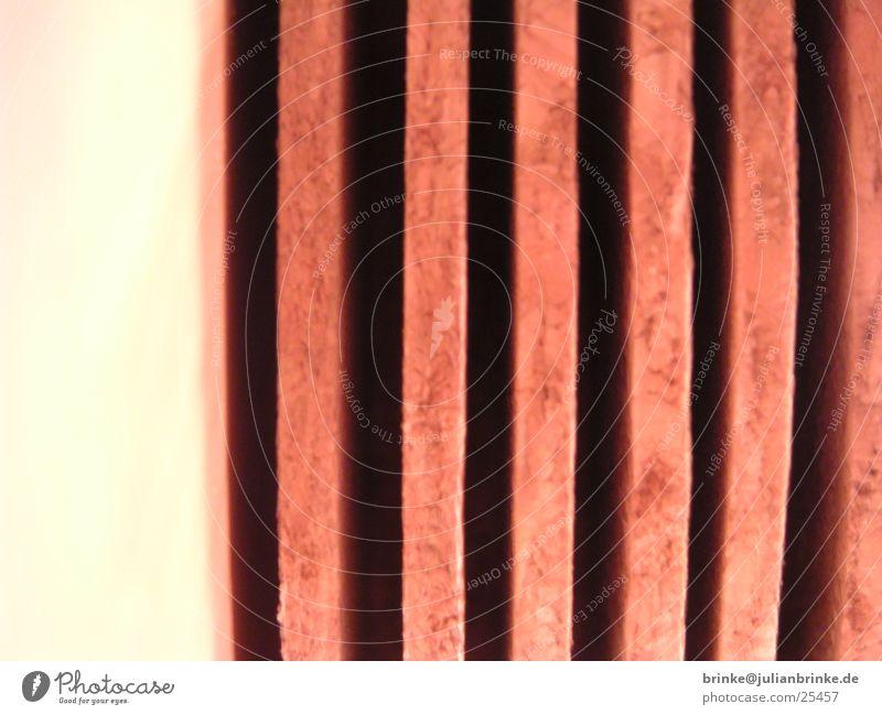 Korkstapel Holz leer Häusliches Leben Fensterscheibe Stapel Lücke Meerschweinchen Krefeld