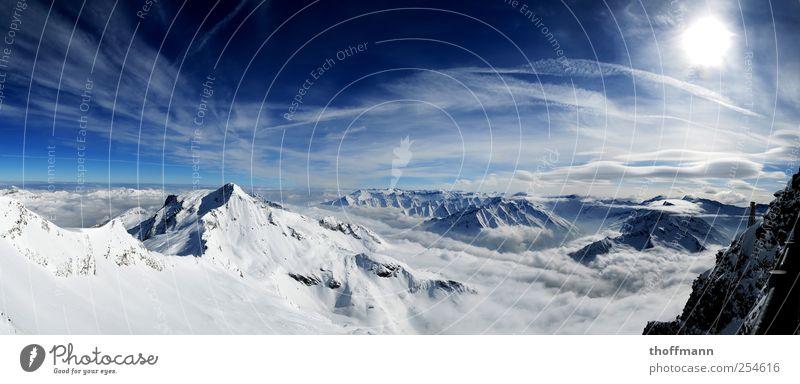 SKIIIIIIFOAN! Skier Skipiste Umwelt Natur Landschaft Wolken Winter Klimawandel Eis Frost Schnee Alpen Berge u. Gebirge Gletscher fahren laufen wandern frei