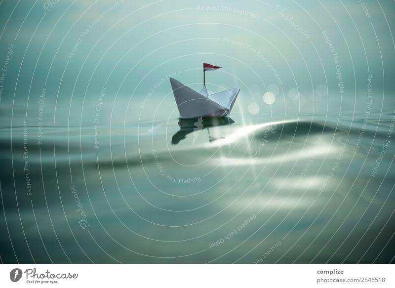 Paper Boat Bling-Bling Ferien & Urlaub & Reisen Freiheit Sommer Sommerurlaub Sonne Strand Meer Wellen Segeln Gesundheitswesen Erneuerbare Energie Kindheit