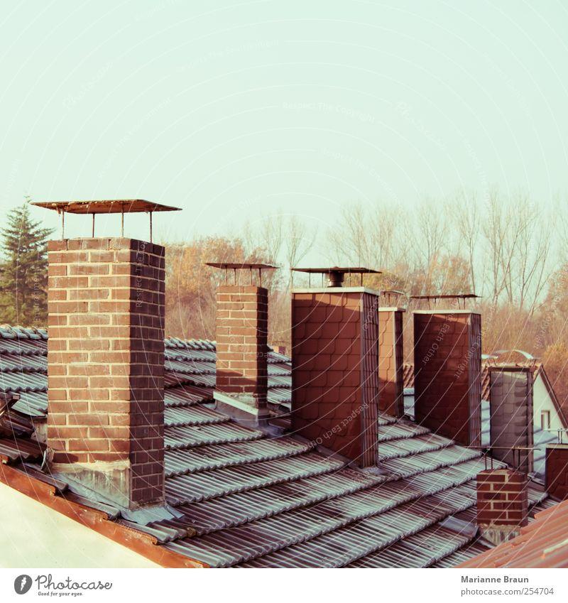 frostig Natur Wasser weiß Baum Winter Haus kalt Gebäude braun Eis Dach Frost Jahreszeiten Tau Schornstein Abdeckung
