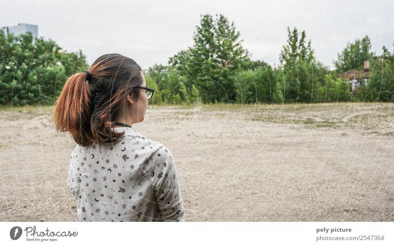 [NR101] - enjoy the silence Junge Frau Jugendliche Erwachsene Kindheit Leben 13-18 Jahre 18-30 Jahre Stadtrand Angst Erholung Hoffnung Identität einzigartig