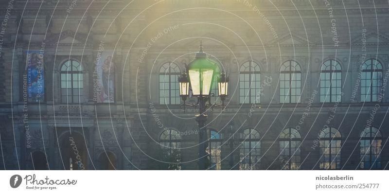 B@DD 11 | Guten Morgen Ferien & Urlaub & Reisen Haus ruhig Architektur Stil Lampe Wohnung Fassade elegant Design leuchten weich Ewigkeit Dresden Laterne