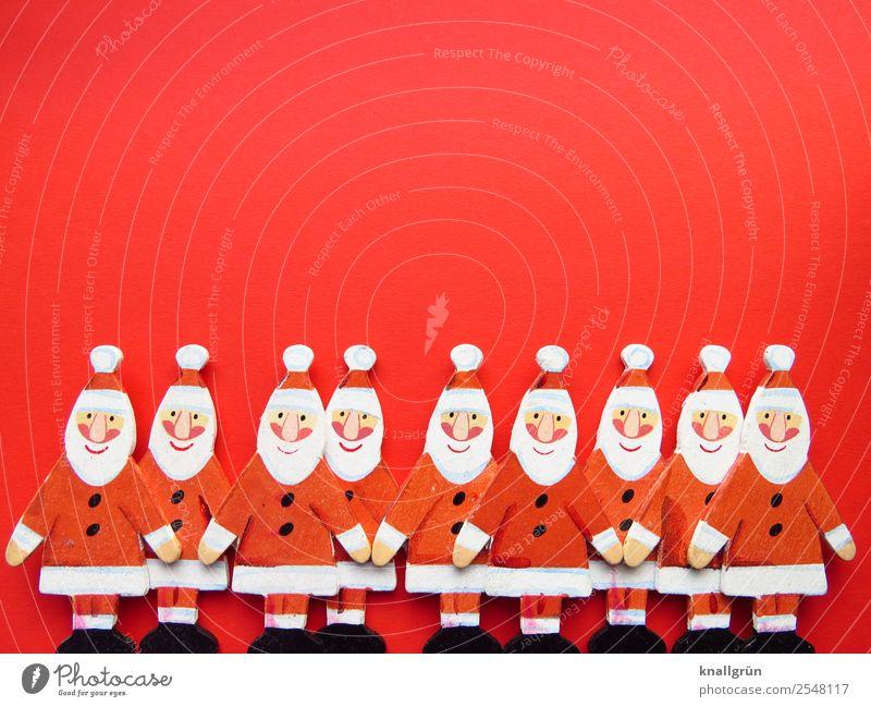 Weihnachten! Menschengruppe Zusammensein Gefühle Stimmung Fröhlichkeit Vorfreude Neugier Erwartung Freude Gesellschaft (Soziologie) Kommunizieren