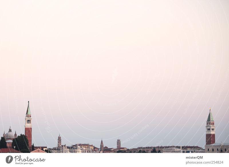 Venice. Ferien & Urlaub & Reisen Kunst ästhetisch Tourismus Turm Kultur Reisefotografie Idylle Italien Skyline Sommerurlaub Fernweh Venedig Barock