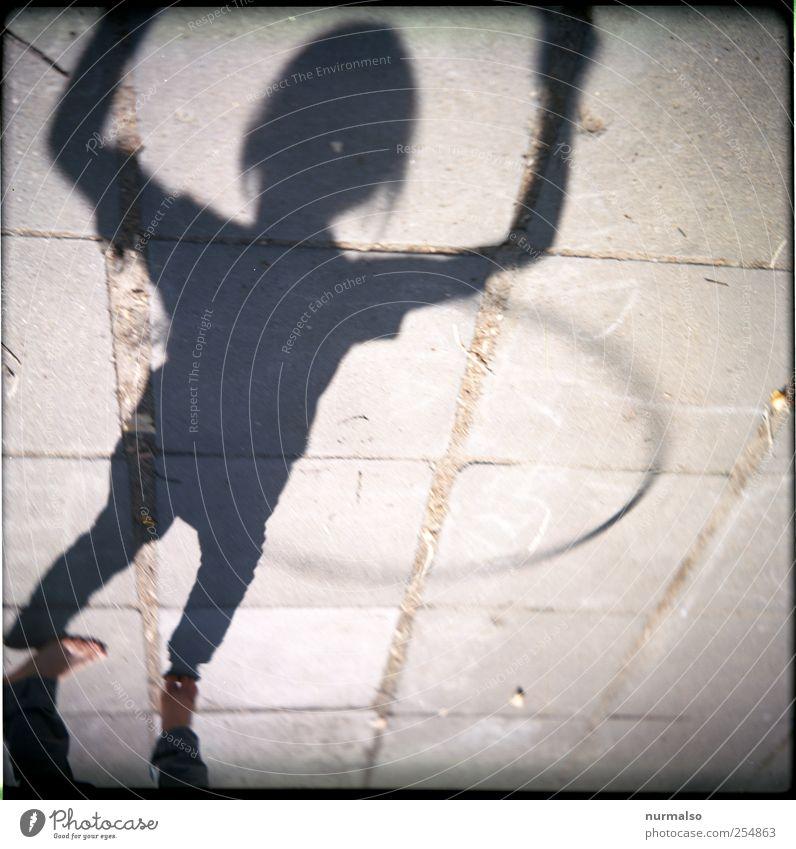 schwung 1121 Mensch Kind Jugendliche Freude Erholung Leben Spielen Bewegung springen Glück Kindheit Freizeit & Hobby ästhetisch Lifestyle Häusliches Leben retro