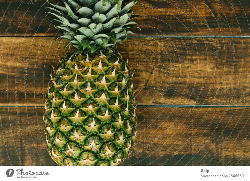 Grüner Zinneapfel Frucht Dessert Ernährung Essen Diät Saft Lifestyle Design exotisch Tisch Natur Pflanze Blatt Holz frisch lecker natürlich saftig gelb grün