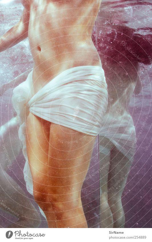176 [reciprocal] Mensch Jugendliche Wasser schön feminin Leben Erotik nackt Erwachsene Haut Schwimmen & Baden natürlich ästhetisch authentisch Wellness rein