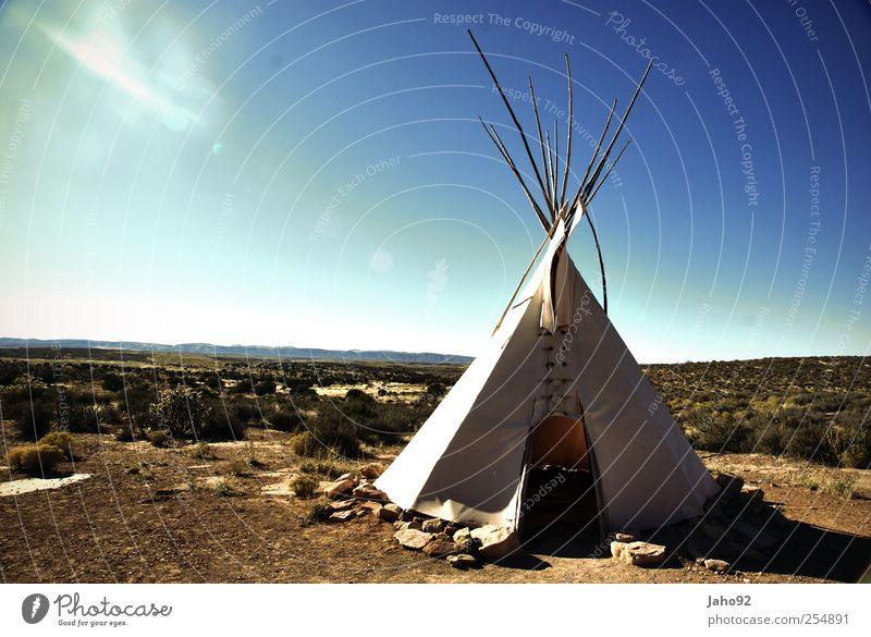 Tipi-Zelt Ferien & Urlaub & Reisen Tourismus Ausflug Abenteuer Ferne Freiheit Natur Felsen Berge u. Gebirge Häusliches Leben Tradition Zusammenhalt Indianer