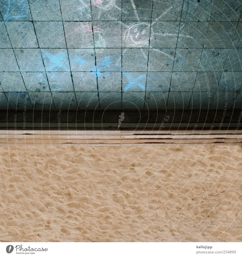 urlaubsreif Natur Sonne Ferien & Urlaub & Reisen Sommer Meer Strand Spielen Umwelt Landschaft Wärme Sand Küste Wetter Wellen Freizeit & Hobby Tourismus