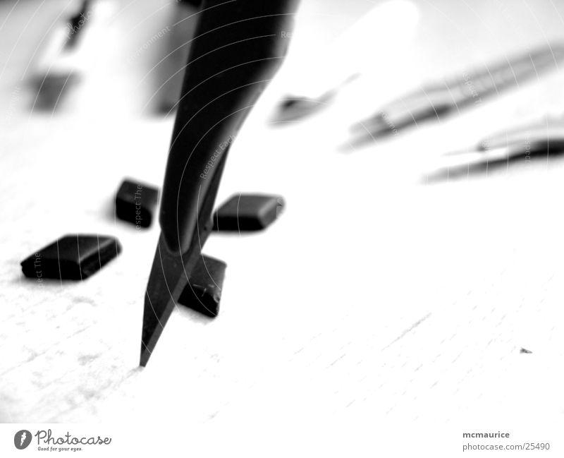 skalpell v2.0 Skalpell weiß schwarz Handwerk Messer Kontrast Spitze Scharfer Gegenstand