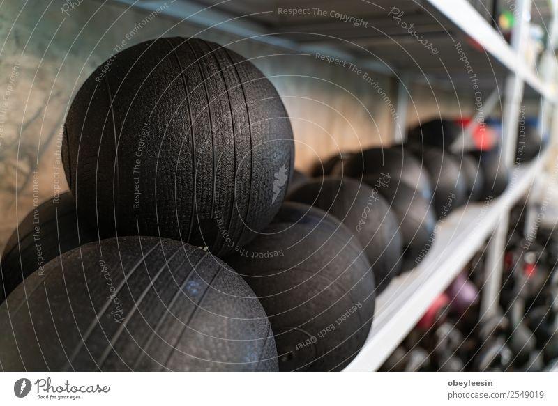 Geräte im Fitnessstudio für die Gesunderhaltung Lifestyle Freizeit & Hobby Club Disco Sport Erwachsene Metall Stahl bauen stark Kraft Opferbereitschaft