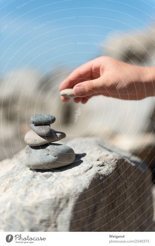 Stufen II Gesundheit Alternativmedizin Leben harmonisch Wohlgefühl Zufriedenheit Sinnesorgane Erholung ruhig Meditation Karriere Erfolg Kleinkind Hand 1 Mensch