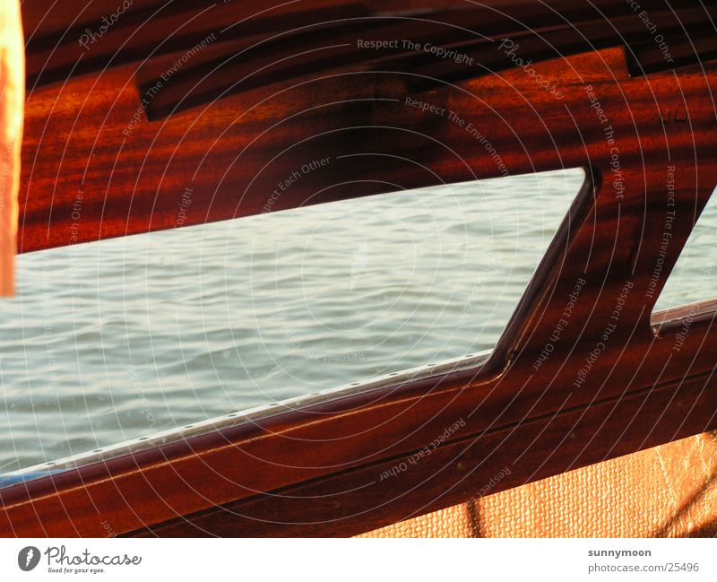 Ausblick Wasser Sonne Wasserfahrzeug Europa Segeln Segelboot
