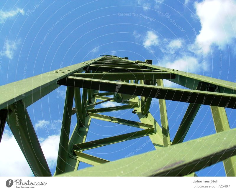 hochspannungsmast Eisenbahn Perspektive Elektrizität Technik & Technologie Elektrisches Gerät
