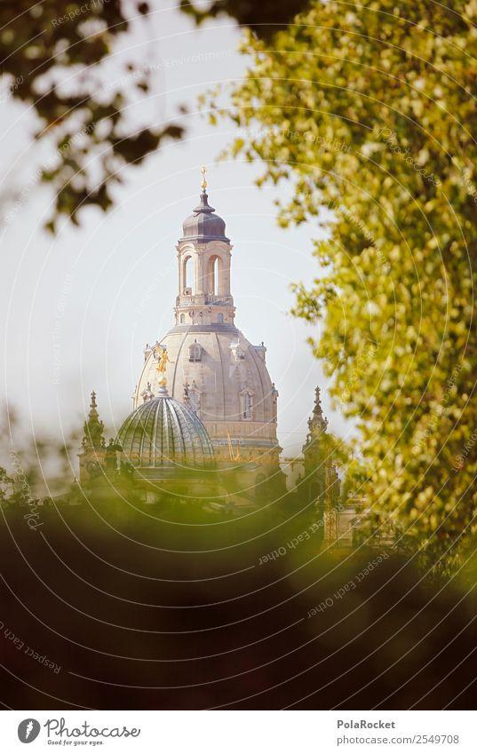 #A# Dresdner Sommer Kirche ästhetisch Dresden Frauenkirche Sachsen Kuppeldach Sandstein Barock Altstadt Sehenswürdigkeit Städtereise Tourismus Deutschland