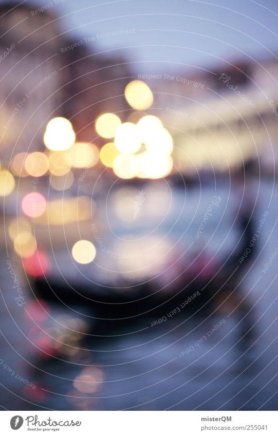 Anónimo Venecia. Ferien & Urlaub & Reisen träumen Kunst Zufriedenheit ästhetisch Brille Romantik Kitsch fantastisch Gemälde Sehenswürdigkeit Märchen Phantasie Venedig Kunstwerk traumhaft