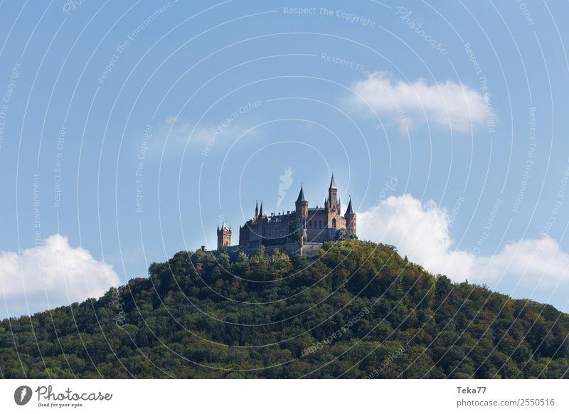 Zu Hohenzollern Sommer Kleinstadt Stadt Burg oder Schloss Abenteuer ästhetisch Burg Hohenzollern Farbfoto Außenaufnahme Menschenleer