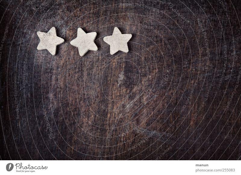 Sternbild Weihnachten & Advent Kitsch Krimskrams Zeichen Holz Stern (Symbol) Weihnachtsdekoration Weihnachtsstern authentisch einfach natürlich Vorfreude