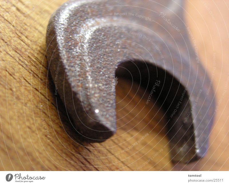 gabelschluessel Schlüssel Stahl Elektrisches Gerät Technik & Technologie 13er Rost alt gebraucht Detailaufnahme