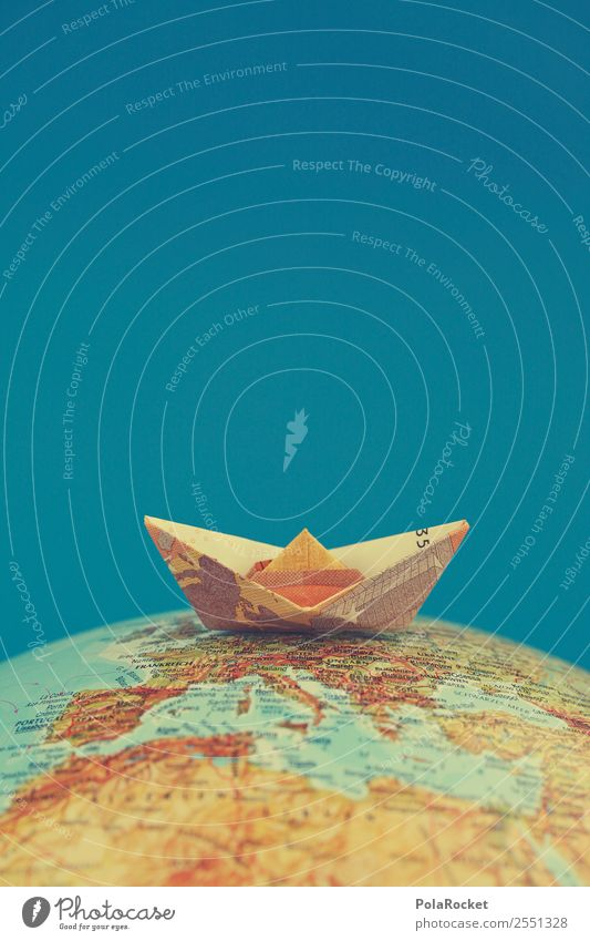 #AS# Top of the World Wege & Pfade Wasserfahrzeug Verkehr ästhetisch Geld Güterverkehr & Logistik Schifffahrt Verkehrswege Segeln Segelboot Kapitalwirtschaft