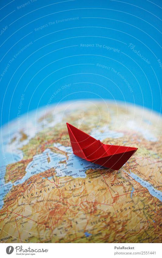 #AS# Schippern Kunst ästhetisch Flüchtlinge rot Mittelmeer Schifffahrt Wasserfahrzeug Schiffswrack Schiffsunglück Reisefotografie Ferien & Urlaub & Reisen