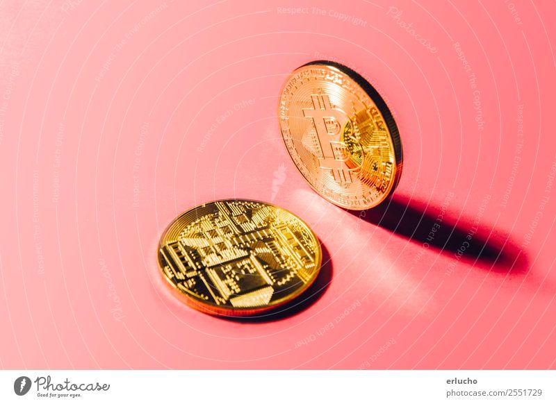 Krypto-Währung Design Geld Wirtschaft Handel Kapitalwirtschaft Börse Geldinstitut Business Computer Technik & Technologie Informationstechnologie Internet