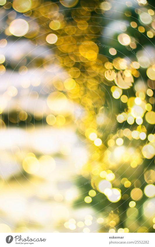 Christmas bokeh Feste & Feiern Weihnachten & Advent Silvester u. Neujahr Weihnachtsbaum ästhetisch schön modern retro rund grün weiß Stimmung Lebensfreude